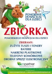 Zbiórka dla Pomorskiego Hospicjum dla Dzieci