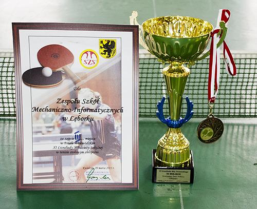 Brązowy medal XI Licealiady Województwa Pomorskiego