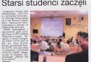 Express Powiatu Lęborskiego – Starsi studenci zaczęli