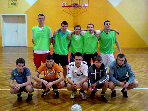 Międzyklasowe mistrzostwa futsalowe