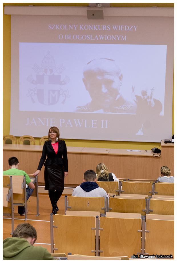 Konkurs wiedzy oJanie Pawle II