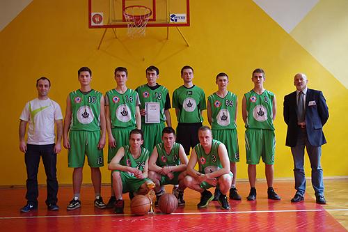 Mistrz Powiatu w piłce koszykowej chłopców