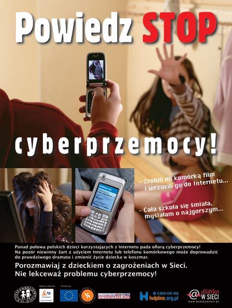 Powiedz STOP cyberprzemocy