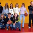 Drugie miejsce w koszykówce dziewcząt