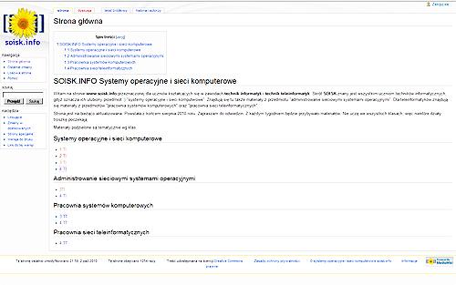 Nowa strona SOiSK.info