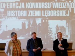 Konkurs wiedzy oHistorii Ziemi Lęborskiej