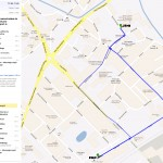Mapa dojazdu doZespołu Szkół Mechaniczno - Informatycznych