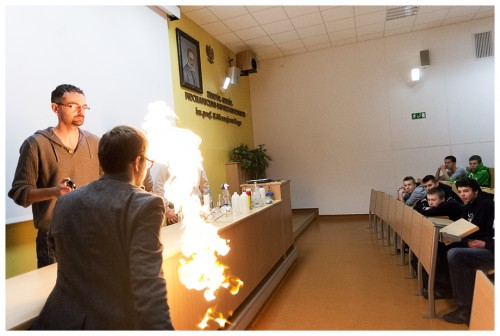 Warsztaty chemiczne - chemia wmałej skali.