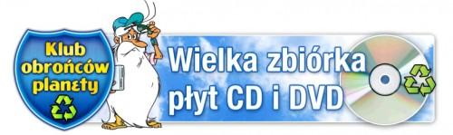 Wielka zbiórka zużytych płyt CD iDVD