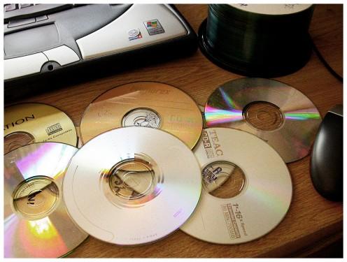 Wielka zbiórka zużytych płyt CD i DVD