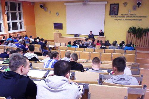 Policja wZespole Szkół Mechaniczno - Informatycznych wLęborku