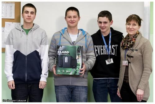 """Nagroda za udział w akcji """"Komputery za tonery"""""""