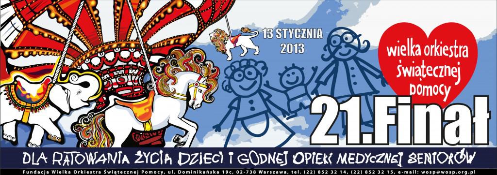 21 finał Wielkiej Orkiestry wLęborku