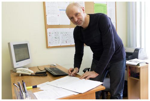 Mirosław Naczke - Wicedyrektor Zespołu Szkół Mechaniczno - Informatycznych