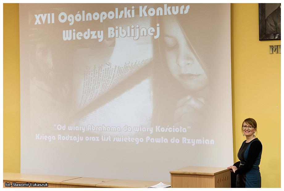 Pierwszy etap XVII Ogólnopolskiego Konkursu Wiedzy Biblijnej