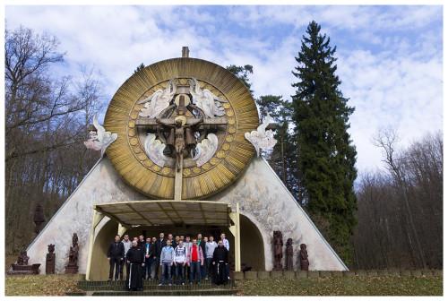 Maturzyści odwiedzili Sanktuarium Matki Bożej Brzemiennej w Gdańsku Matemblewie