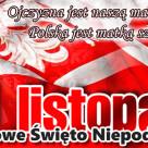 11 listopada Narodowe Święto Niepodległości