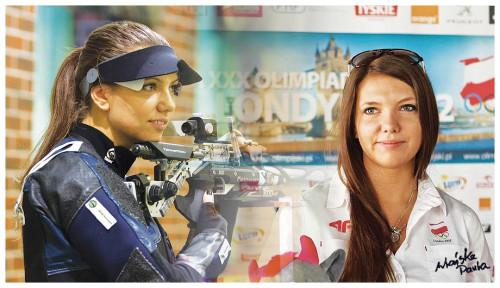 Paula Wrońska - reprezentantka Polski na Igrzyskach Olimpijskich Londyn 2012, pierwsza Olimpijka w historii Lęborka. Występuje w barwach klubu strzeleckiego LOK Lider-Amicus Lębork