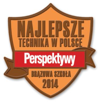 13 miejsce wśród techników w woj. pomorskim.