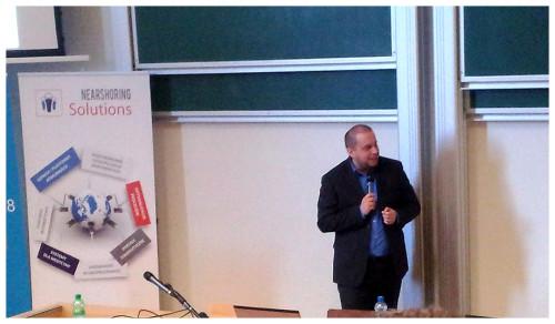 Teleinformatycy zklasy II TE uczestniczyli wkonferencji Junior IT Academic Day wGdańsku