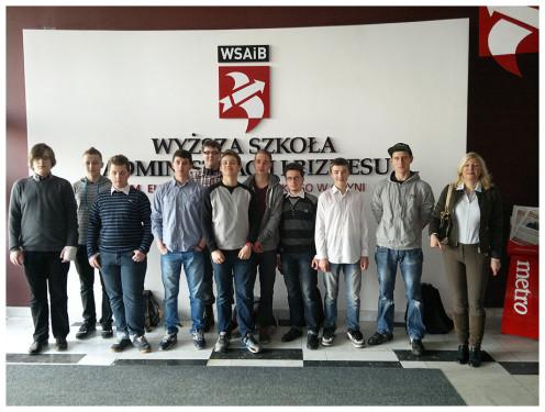 Michał Porożyński zdobywca III miejsca