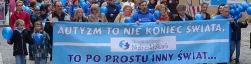 Marsz rozpoczął obchody Światowego Dnia Autyzmu Powiatu Lęborskiego