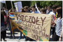 """Marsz ekologiczny """"Ratujmy pszczoły"""""""