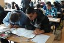 Nasi uczniowie po raz pierwszy na Turnieju Wiedzy Technicznej z rysunku technicznego.