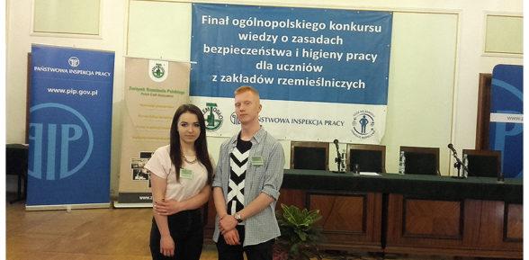 XVI Ogólnopolski konkurs zzakresu BHP