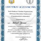 XIII forum historyków wojskowości w Gdyni.